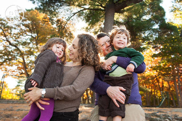 Relaxed family fun session :: Boston MA